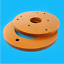Bakelite Phenolic Resin Sheet Plate CNC Insulation Electrical Board 3-20mm