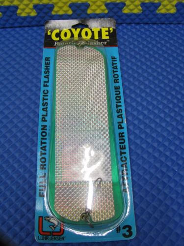 Luhr Jensen /'Coyote/' Rotating Flasher Size #3 5850-003 Series CHOOSE YOUR COLOR!