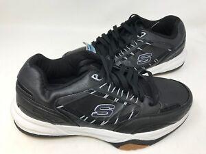 37d33cf6 NEW! Skechers Men's MONACO TR Training Shoes Black/White #51576 5R2 ...