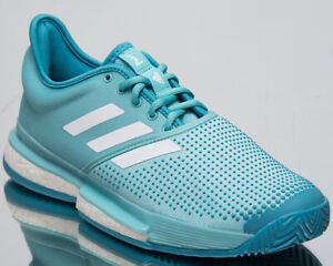 d4f357995d adidas SoleCourt Boost x Parley Men's New Blue Spirit White Tennis ...