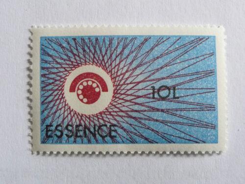 rare timbre vignette rationnement essence DIX LITRES CARBURANT AUTO PTT 1979
