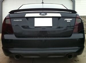 2010 2012 Ford Fusion Smoke Tail Light Precut Tint Cover