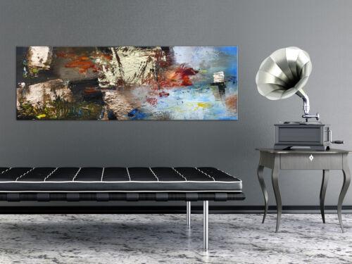 ABSTRAKT BUNT Wandbilder xxl Bilder Vlies Leinwand a-A-0537-b-a