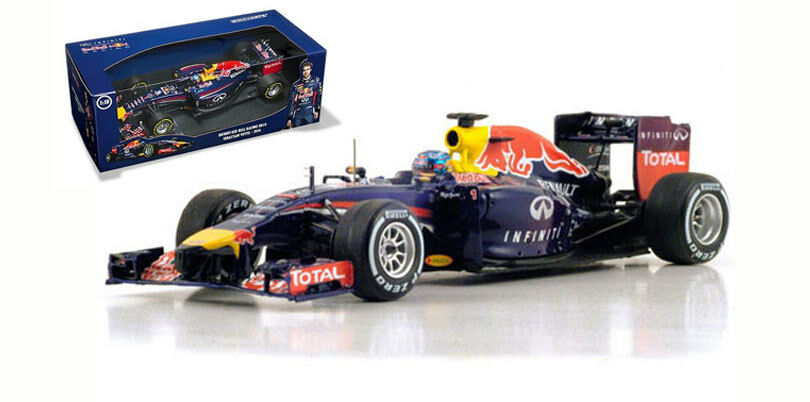 Minichamps Red Bull RB10 2014 Race Version - Sebastian Vettel 1 18 Scale