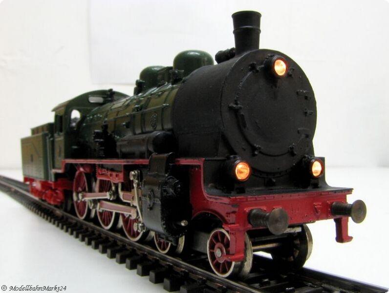 Märklin HAMO 8398 KPEV p8 trasformazione in verde epoca i 3l =