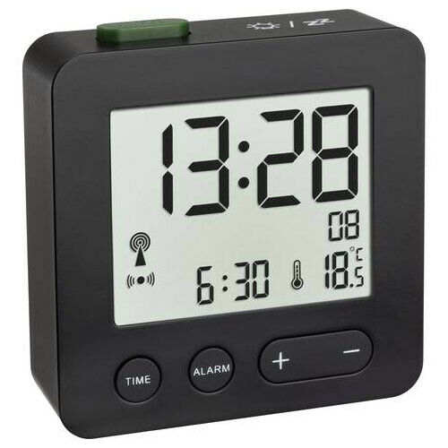 schwarz Grundig Uhrenradio Linie KSC 35 Radiowecker Snooze Sleeptimer-Funktion