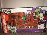 Palisades Toys Invader Zim Special Edition Figure Set Of Doom Rare Mint