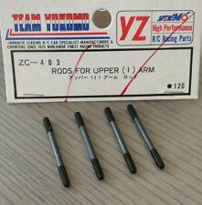 """VINTAGE TEAM YOKOMO RC YZ-10 870C RODS FOR UPPER """"I"""" SUSPENSION ARMS ZC-403 NIP"""