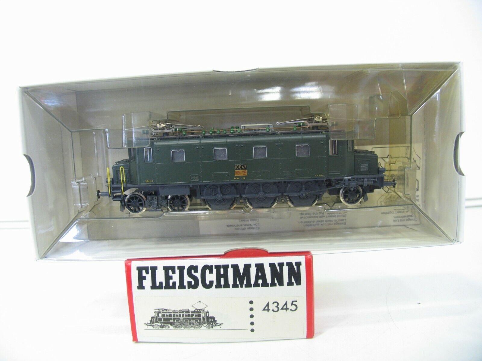 Fleischmann 4345 E-LOK Ae 3 6 Grün SBB NH1765