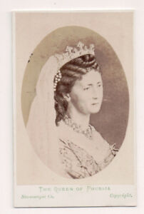 Vintage-CDV-Augusta-of-Saxe-Weimar-Eisenach-German-Empress-Queen-of-Prussia
