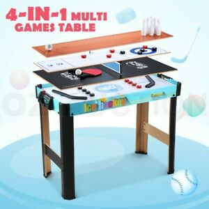 4-in-1-Table-Tennis-Games-Hockey-Curling-Bowling-Children-Kids-Toy-Gift-Indoor