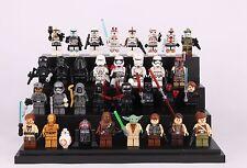 32Pcs Star Wars Clone Trooper Darth Yoda C-3po Custom Mini Figure Fits Lego Toy