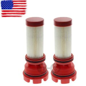 2pcs Fuel Filter For Mercury Verado Optimax DFI 8M0060041 18-7981 4-7981