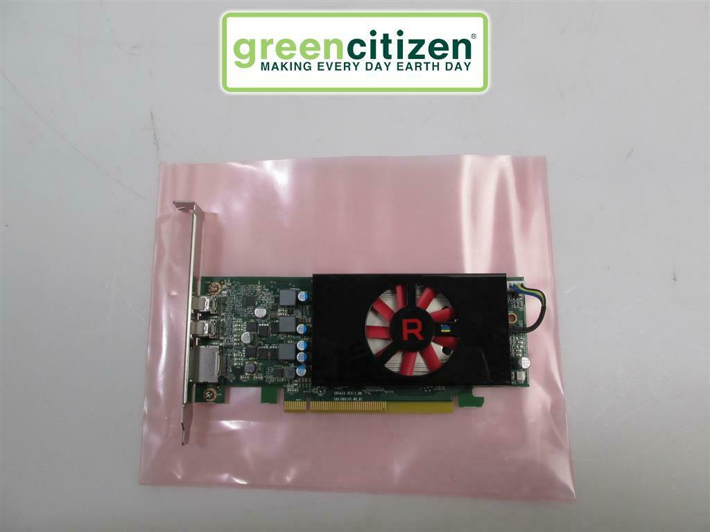 AMD Radeon RX550 4GB GDDR5 OPGA14 Full Profile Video Card Dell NDRG5