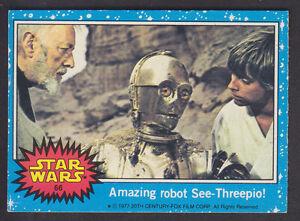 Topps-Star-Wars-Series-1-1977-66-Amazing-Robot-See-Threepio