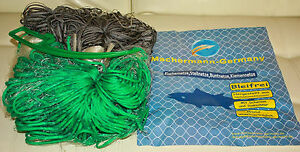 Angelsport 60mmtop Preis!!! Kescher & Netze MüHsam Stellnetz,fischnetz,spiegelnetz,3 Wandig,finland Netz.3m X 60m