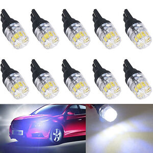 2X-T10-T15-SMD-5050-Bright-LED-Car-Vehicle-Side-Tail-White-Light-Lamp-Bulb-Hot