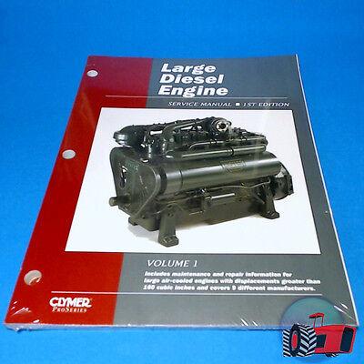 Workshop Manual Large Diesel Engine Allis David Brown Case JD IH Lister Perkins EBay