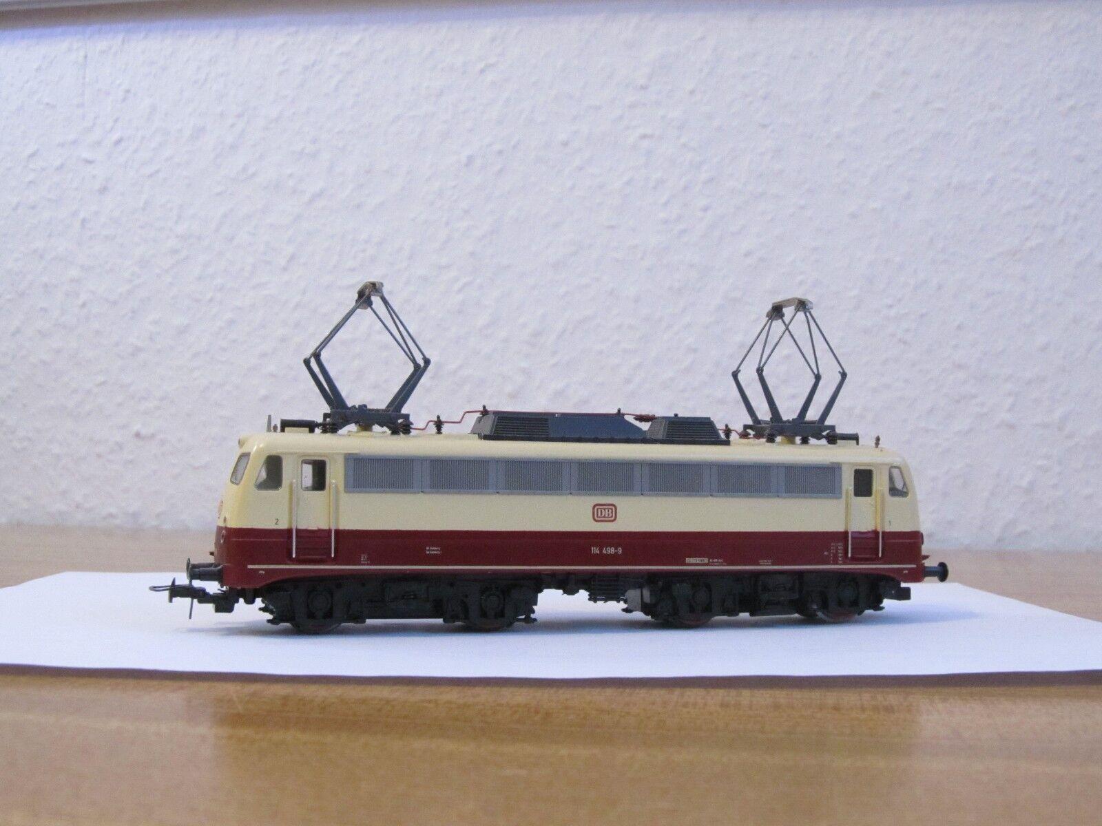 ROCO Hobby Line 53448 dB E-Lok 114 498-9 h0 = Usato