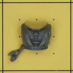 D Warhammer 40K Space Marines Dark Angels Company Veterans Robed Torso Front