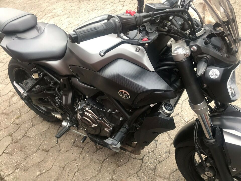Yamaha, MT07, 700 ccm