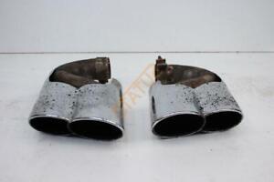 Porsche-Cayenne-955-Tequipment-Eisenmann-Exhaust-Tips-Pair-Twin-7L5253681D