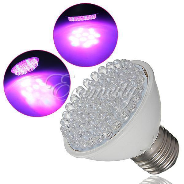 E27 38/60LEDs 110/220V Red&Blue Plant Grow Light Garden Hydroponic Lamp Bulbs