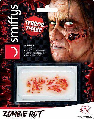 Accurato Halloween 3d Protesi Fx Zombie In Decomposizione Della Pelle-mostra Il Titolo Originale