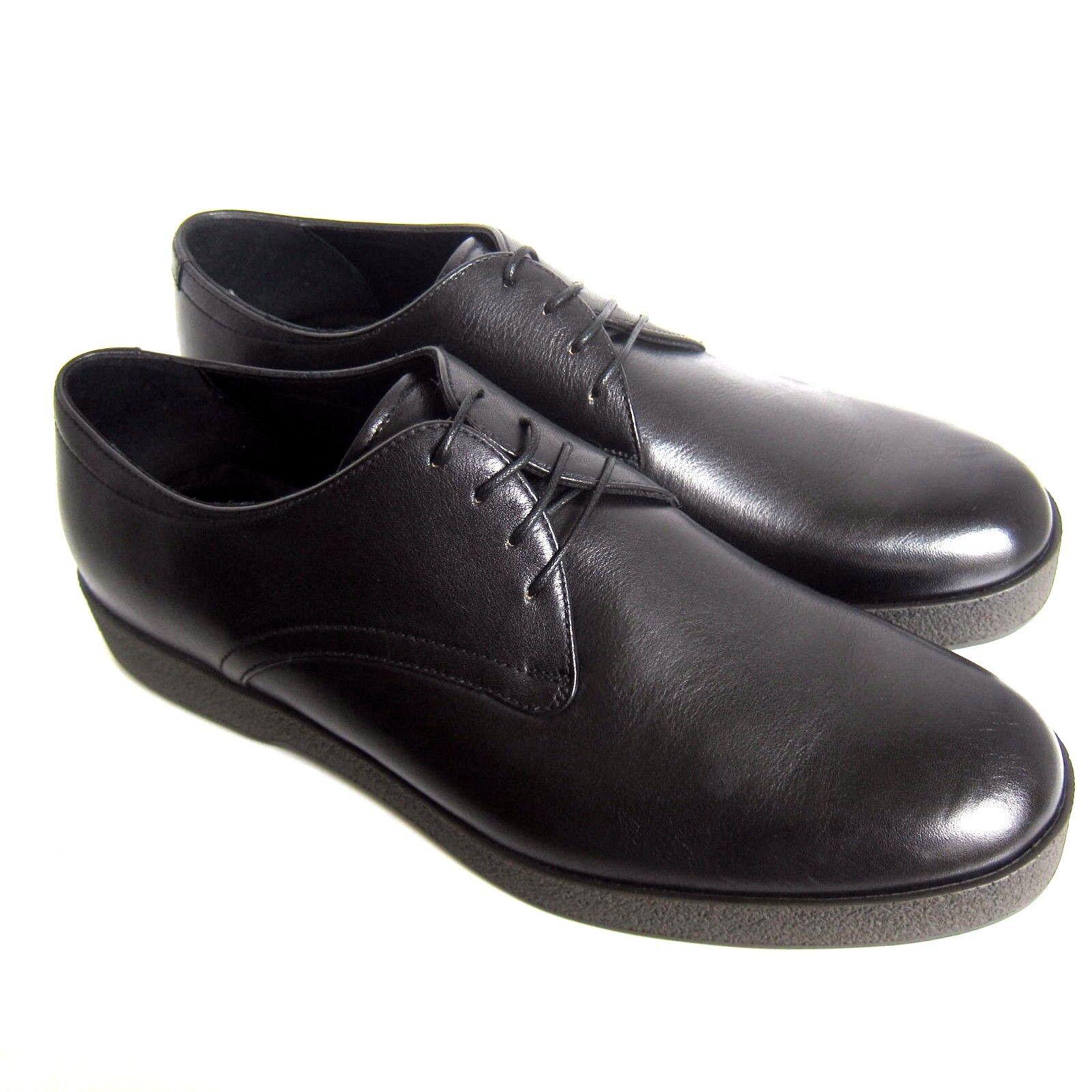 C-1365125 Neuf ErHommesegildo Zegna Cuir Chaussures à Lacets Taille US 10.5 D