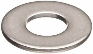 Stainless Steel Flat Washers: 5/16 x 3/4 (100ea)