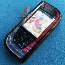 Refurbished Nokia 7610 Mobile Cell phone GSM Cellular Unlocked Smartphone Black