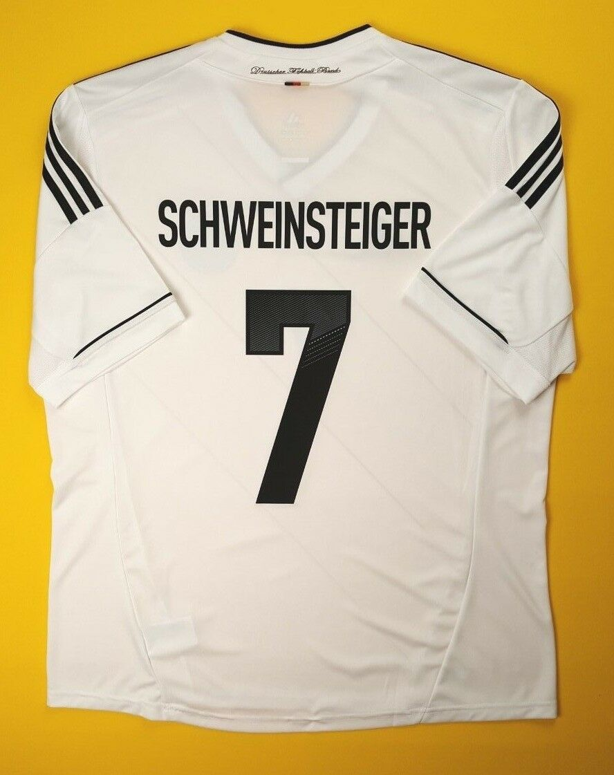 4.9 5 Schweinsteiger Alemania Jersey Camisa 2014 XL 2012 X20656 ig93 De Fútbol Adidas