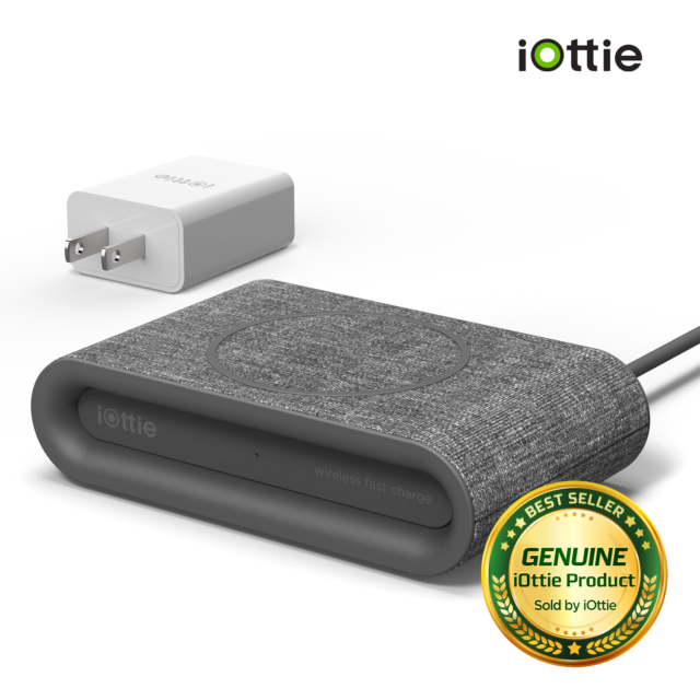 iOttie Ion Wireless Fast Charging Pad Plus- USB C Cable & Adapter Included  Ash for sale online | eBay