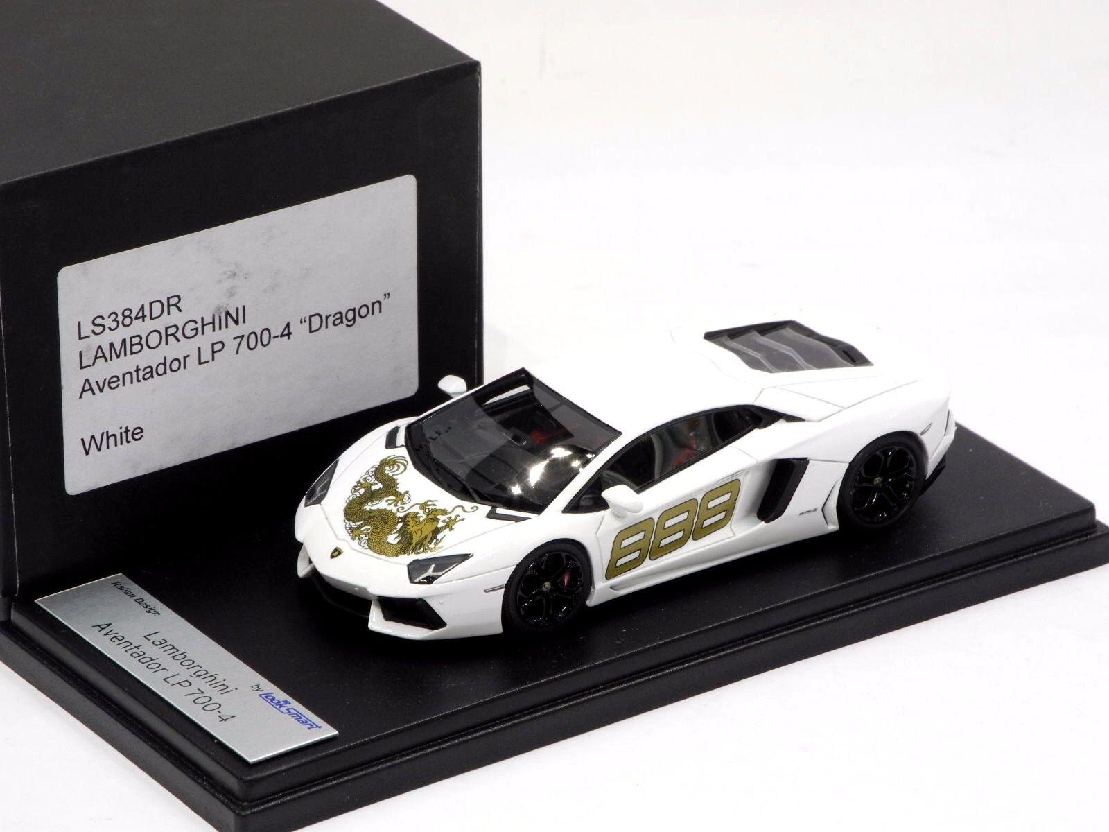 respuestas rápidas Lamborghini Aventador LP700-4 Dragon blancoo LookSmart Modelo 1 43 43 43  LS384DR  Con 100% de calidad y servicio de% 100.