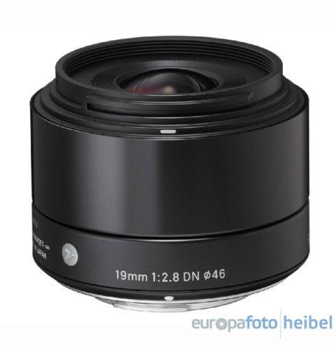 1 von 1 - Sigma 19mm f2,8 DN Objektiv Sony E-Mount schwarz Objektivbajonett
