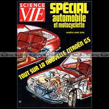 SCIENCE & VIE HS 93 ★ SALON AUTO MOTO 1971 ★ F1 CITROËN SM GS MEHARI OPEL MANTA