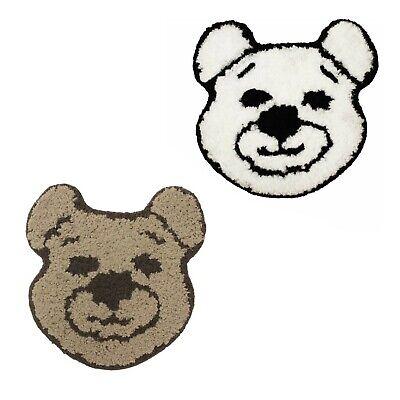 Kids Bedroom Teddy Bear Shape Floor Rug