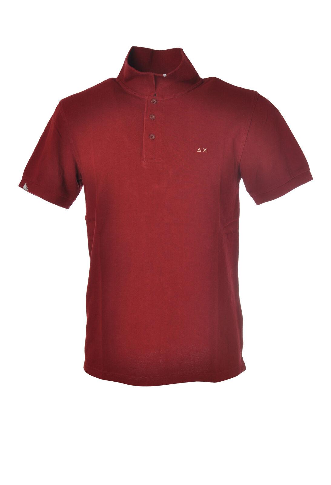 Sun 68 - Topwear Polo - Mann - red - 6000613C190859