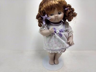Humorous Campbells Enfants 10in Poupée De Porcelaine Miss Reniflements Violet Cheap Sales Autres