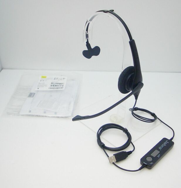 Jabra Biz 1500 USB Mono Computer VoIP Headset with noise-cancellation microphone