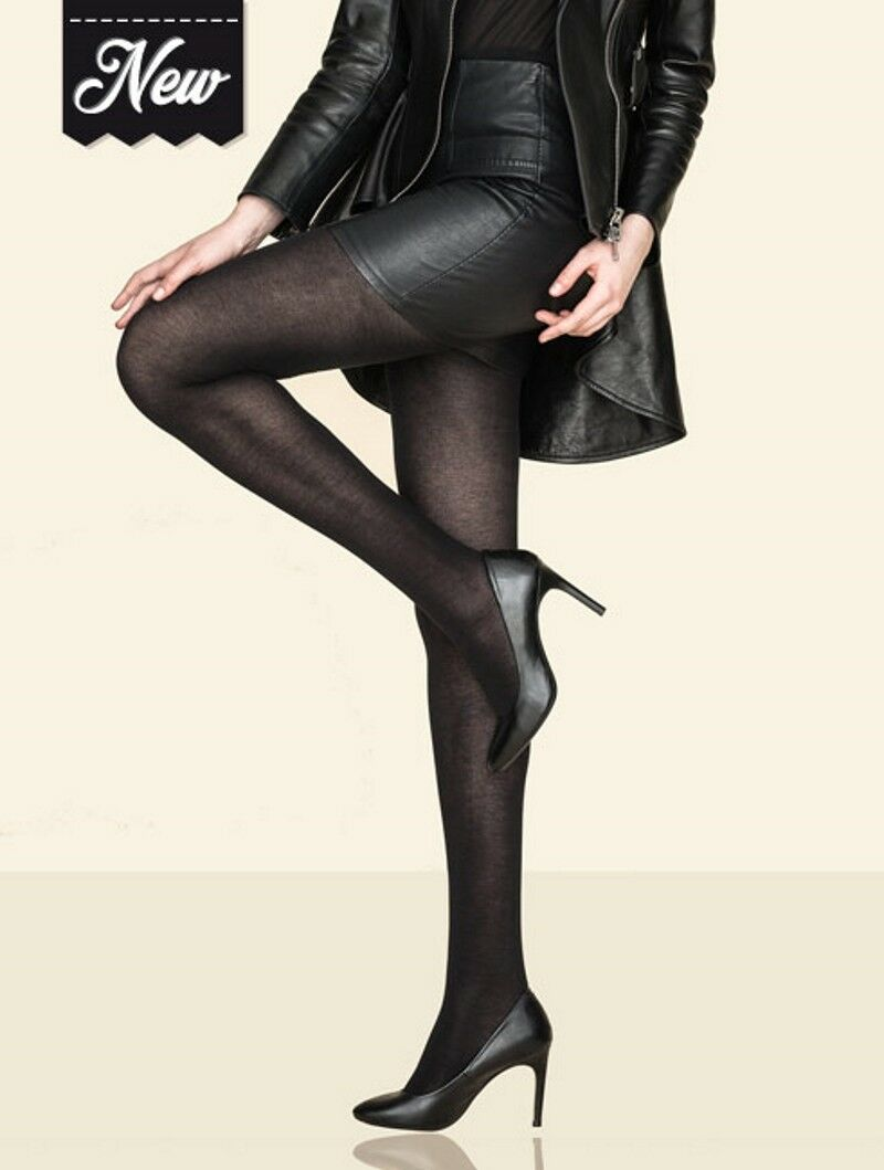 Lot 2 pairs tights opaque reference Bambou brand Gerbe