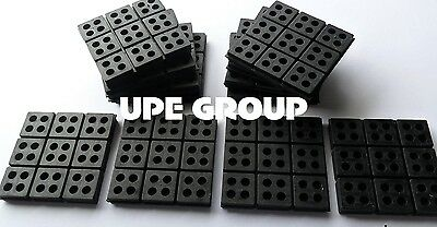 """Anti Vibration Pad All Rubber Isolation Dampener Industrial Heavy Duty 6x6x3//4/"""""""