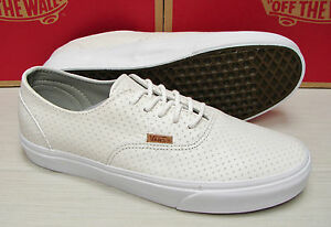 1d078812f5 Image is loading Vans-Era-Decon-Leather-Emboss-Blanc-de-Blanc-