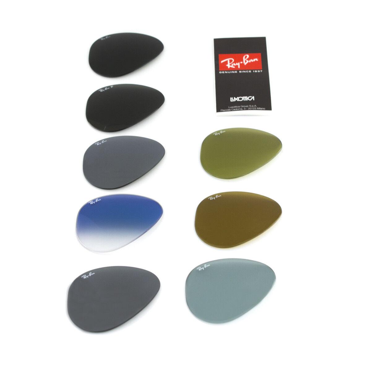 Lenti di ricambio Ray ban Rb3025 Aviator Verde Grigio G15 58 mm Non applicabile