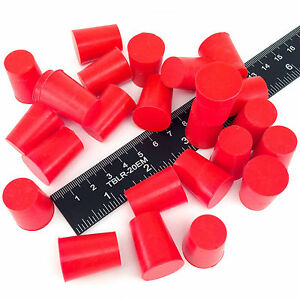 100-5-8-034-x-3-4-034-2-High-Temp-Silicone-Rubber-Powder-Coating-Plugs-Cerakote