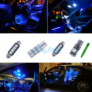 Canbus-Interior-Package-Kit-Tool-LED-Light-Blue-Fit-Benz-C-class-W204-08-P