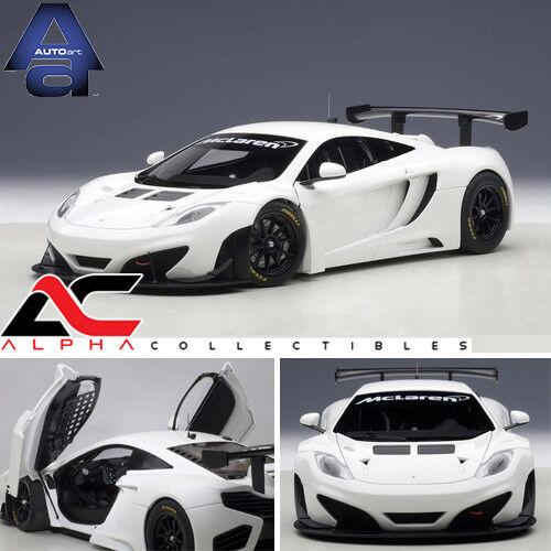 a la venta Autoart 81341 81341 81341 1 18 Mclaren 12c Gt3 blancoo súpercoche  Entrega rápida y envío gratis en todos los pedidos.