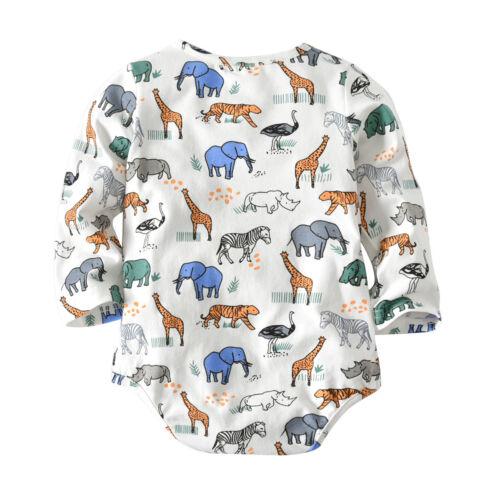 2pcs Newborn Baby Boy Outfit Romper Tops+suspender Pants Jumpsuit Clothes Set