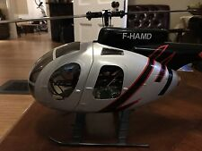 Walkera V450D01 Flybarless RC Helicopter w/MD500 Fuse, LED Spotlight, Strobe BNF