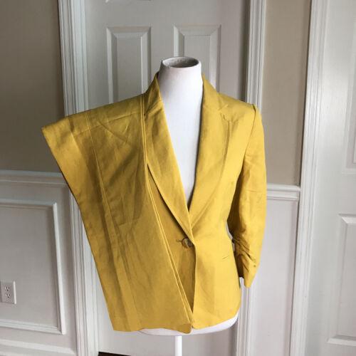 KASPER Women Elegant Mismatch Pineapple Linen Pant